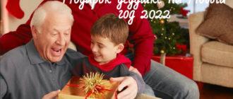 Что подарить на Новый год 2021 дедушке от внуков или детей