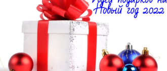 Что подарить на Новый год 2022: идеи подарков