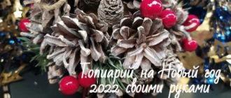 Топиарий на Новый год