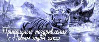Прикольные поздравления с Новым годом 2022 Тигра